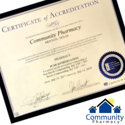 PCAB Certificate of accreditation