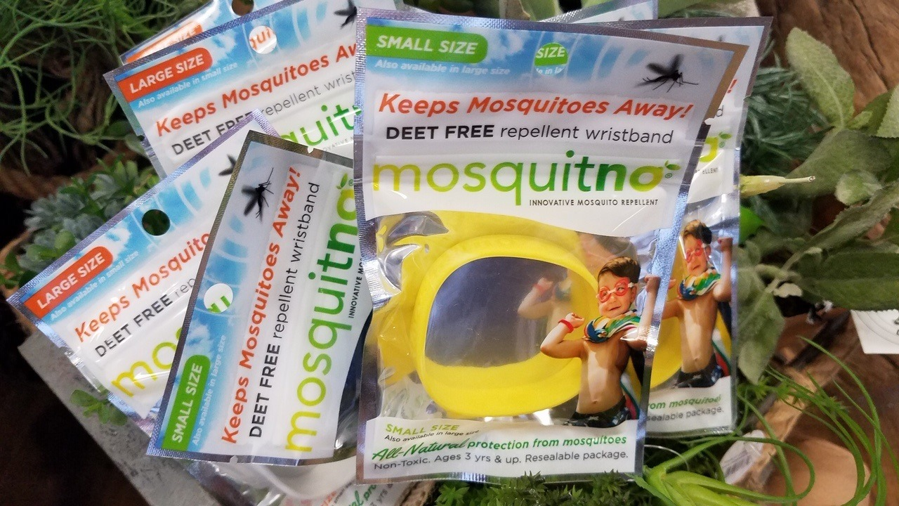 mosquitno deet free mosquito repellent band