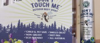 Don't touch me all-natural deet free outdoor body spray