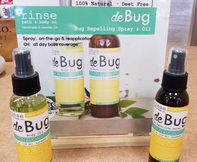 de Bug natural bug repellent body oil and spray