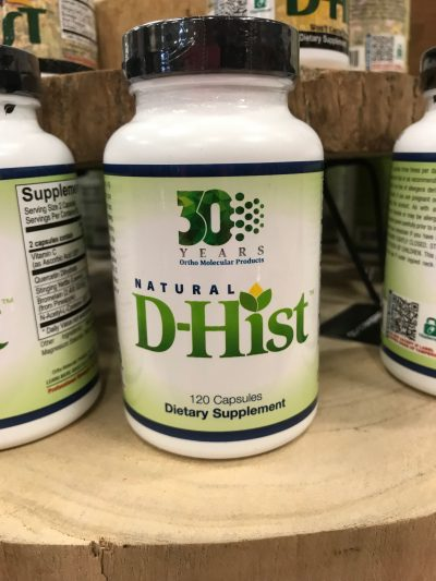 d hist dietary supplement for allergies